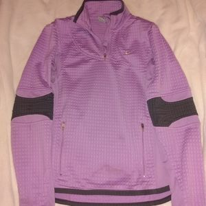 Nike womens athletic warm sweater top